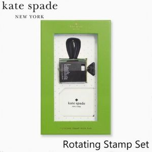 KATE SPADE Rotating Stamp With Pad